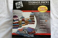 Space Bags 15 Bag Set New Sealed
