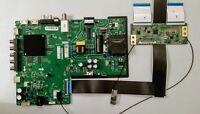 Vizio D43FX-F4 Main Board TP.M15581.PB756 & T con Board, and Ribbons