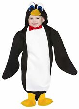 Baby Penguin Costume Infant 6-12 Month Baby Bunting Bag Halloween Xmas Party Fun