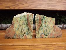 Tolle Azurit - Malachit Anschliffe Deko (Buchstützen) 5kg