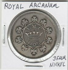 LAM(C) SCD - Royal Arcanum - V.M.C. 1105 - 35 MM Nickel