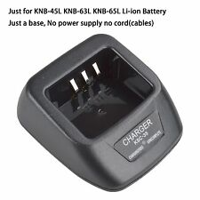 KSC-35 Li-ion Charger Base no power supply for Kenwood TK3202L TK3207 TK3212