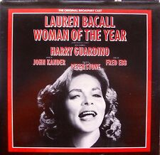 WOMAN OF THE YEAR- ORIG. BROWDWAY CAST- NM VINYL Arista ‎– AL 8303  1981