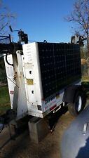 construction solar light trailer