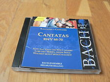 Helmut Rilling - Bach : Cantatas BWV 68-70 -  CD Vol. 22 Hanssler Edition