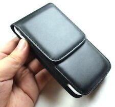 Black Flip Leather Pouch Case Cover Pouch Case For Samsung Galaxy S5 S6 i9600