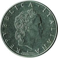 COIN / ITALY / 50 LIRA 1993   #WT80