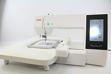 Janome MC  500 E  Stickmaschine mit 3 RAHMEN  u. Sticksoftware