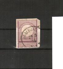 H18618 Deutsches Reich Mi. Nr. 16 auf Briefstk. gestempelt  geprüft BPP