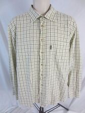 Barbour Mens Large Check Long Sleeve Button Front Shirt CB242