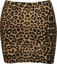 Animal Print Machine Washable Regular Size Skirts for Women