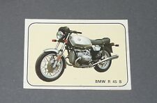N°245 BMW R 45 S ALLEMAGNE ALBUM PANINI MOTO SPORT 1979