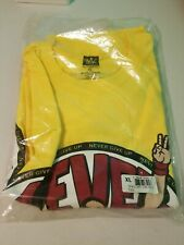 John Cena T-shirt You Cant See Me Mens XL Hustle Loyalty Respect Authentic WWE