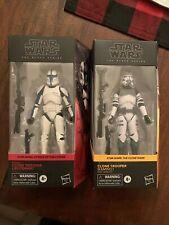Star Wars Black Series Clone Trooper (Kamino) & Clone Trooper Lieutenant