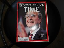 TIME Magazine November 21 1988 Election Special George Bush Savors Victory