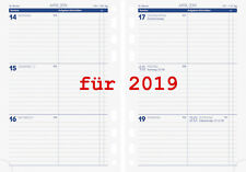 Brunnen Business Kalendarium 2019 1Wo=2Seit A5 Einlage Kalender 2019 Zeitplaner