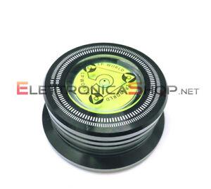 Clamp stabilizzatore peso 274 gr. con bolla livella nero per giradischi