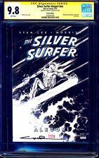 Silver Surfer #1 Alegori TURKISH VARIANT CGC SS 9.8 signed Yildiray Cinar 1:250