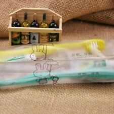 Toothbrush Toothpaste Disposable Individually Travel Wrapped J0I6
