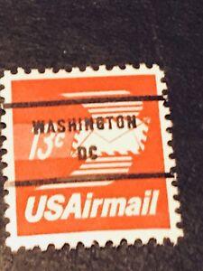 US Scott # C79b Winged Envelope Congressional Precancel 13¢ MNH ***FREE SHIP****