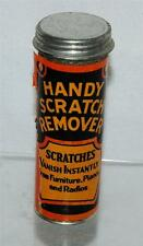 Vintage Handy Scratch Remover Container