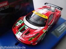"""Carrera Digital 132 30639 FERRARI 458 ITALIA GT2 """"AF CORSE, NO.71"""", 2012 LICHT"""