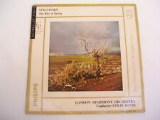 DAVIS stravinsky rite of spring - PHILIPS GL160 MONO LP