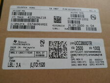 Texas Instruments ucc2800dtr IC low-PWR cur-mode PWM 8-SOIC * 100 unidades * * nuevo *