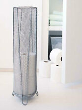 New Design Ideas Silver Mesh Metal Valet Toilet Tissue Paper Umbrella