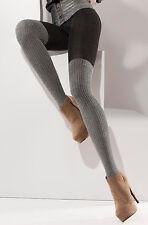 Warme Winter Strumpfhose Overknee-Optik, Muster, Gr.S,M,L Baumwolle, blickdicht