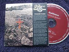 GALLIANO   CD SINGLE   TWYFORD DOWN   4 tracks DIGI PACK COVER