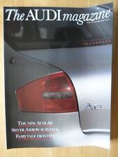 AUDI MAGAZINE brochure - Automne 1997 Issue 18 - 68 pages