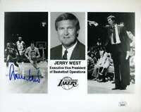 Jerry West JSA Coa Autograph Hand Signed 8x10 Photo