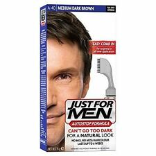 Just for Men Autostop Hair Color Medium-dark Brown A40
