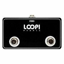 Dual Amp Channel Footswitch - Big Foot Version - Loopi Pedals