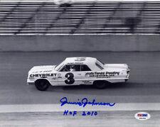 Junior Johnson SIGNED 8x10 Photo + HOF 2010 NASCAR LEGEND PSA/DNA AUTOGRAPHED