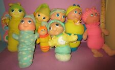 Huge Vintage Glo Glow Worm Bug Playskool Soma Shelcore Plush Lot Tlc Fixer Upper