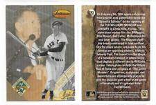 "TED WILLIAMS (BOSTON RED SOX) - 1994 TED WILLIAMS CARD CO ""LIMITED PRINT"" CARD"