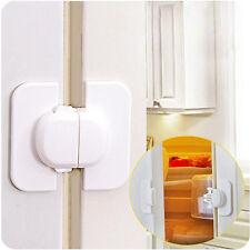 Toddler Baby Child Safety Refrigerator Fridge Freezer Door Lock Latch Catch 1Pcs
