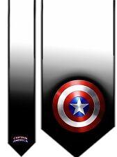 L@@K! Captain America Satin Neck tie - Avengers