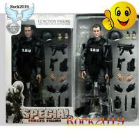 """1/6 Scale Soldier Equipment SDU Black Uniform Vest Weapon Model for 12"""" Figure"""