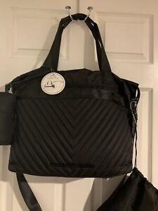 Steve Madden BCHERI X-Large Weekender Business Tote W/ Drawstring Bag