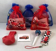 Cars the movie,lightening mcqueen themed party/gift/loot bag fillers!!