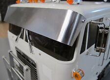 Tamiya RC 1/14 Globe Liner Semi Truck Windshield Drop Lowrider Sun Visor Plate