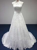 Spitze schlichtes Brautkleid Hochzeitskleid Kleid Braut Babycat collection BC721