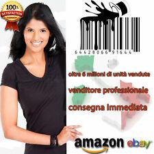 2000 per ean upc per Amazon, eBay, eprice,  tutti i MARKETPLACE tel 3914784718