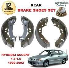 Pour hyundai accent 1.3i 1.5i mvi 1999-2002 neuf frein arrière chaussures set