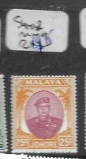 MALAYA JOHORE (P0301B) 25C SULTAN  SG 142  MNH