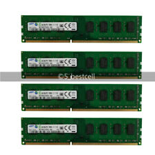 4GB 8GB 16GB 1X 2X DDR3 DIMM 1600MHz PC3-12800 Non-ECC Desktop PC Memory RAM LOT