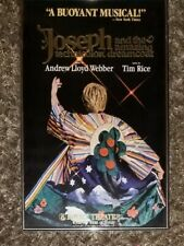 Vintage Original Joseph & Amazing Technicolor Dreamcoat-Window Card! Framed